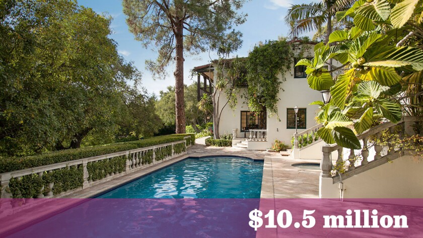 The Montecito residence formerly owned by actress Jane Seymour sold for $10.5 million.