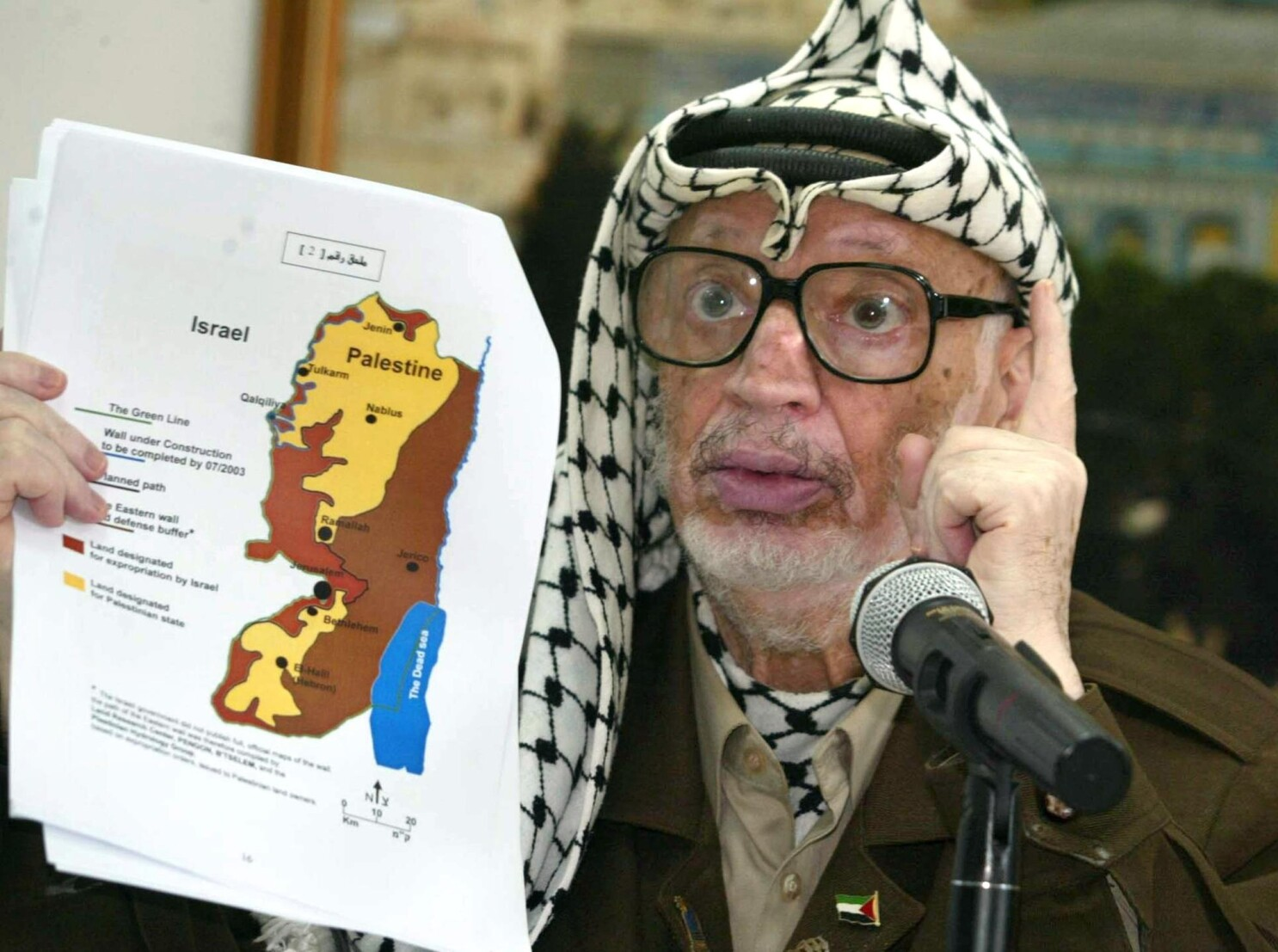 Was Yasser Arafat poisoned? New turmoil over test results - Los Angeles  Times