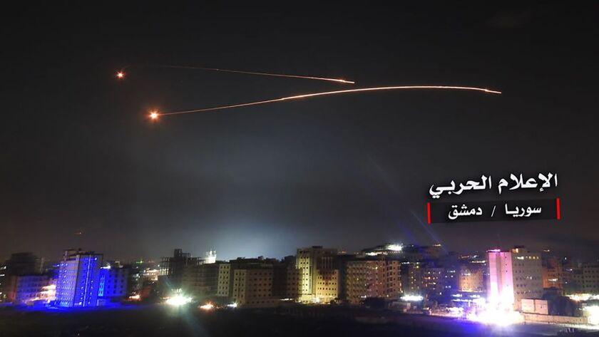 SYRIA-ISRAEL-CONFLICT-STRIKES