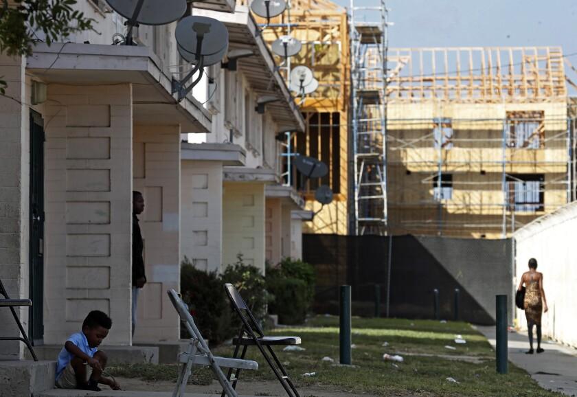 Jordan Downs housing project