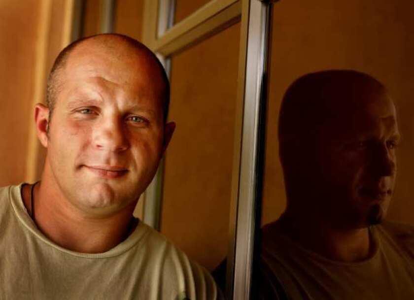 Mixed martial arts fighter Fedor Emelianenko