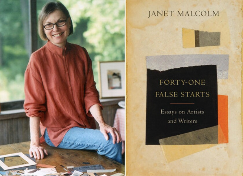 Janet Malcolm's brilliant methods are on show in 'Forty-One False Starts'