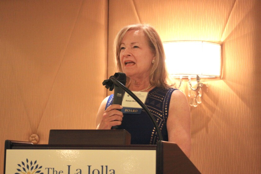 La Jolla Community Foundation grants chair Susan McClellan