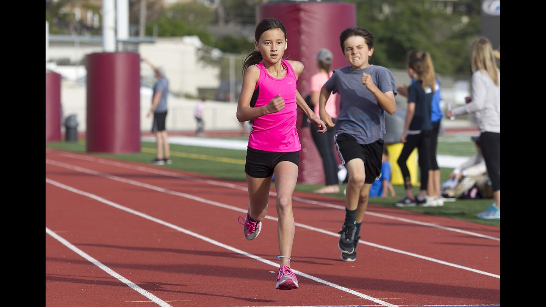 Laguna Beach Youth Track Meet