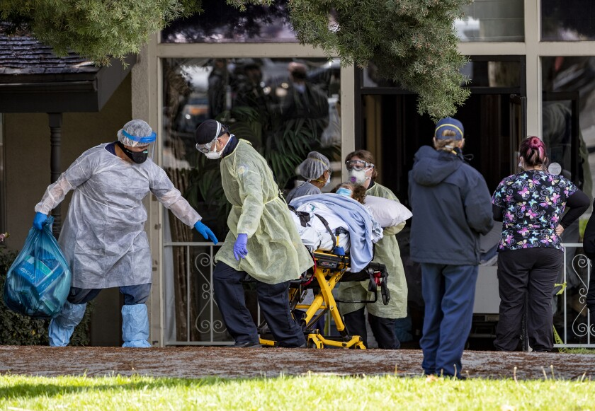 Patients removed from Magnolia Rehabilitation and Nursing Center
