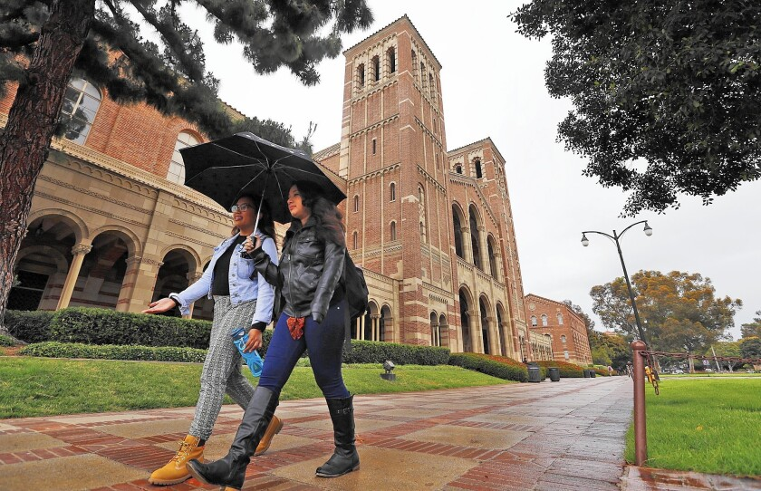 At UCLA and other University of California campuses with law schools, law students are being exempted from supplemental fee increases hitting other graduate programs.
