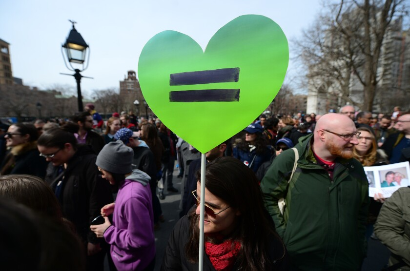 Gay rights: Banished by love