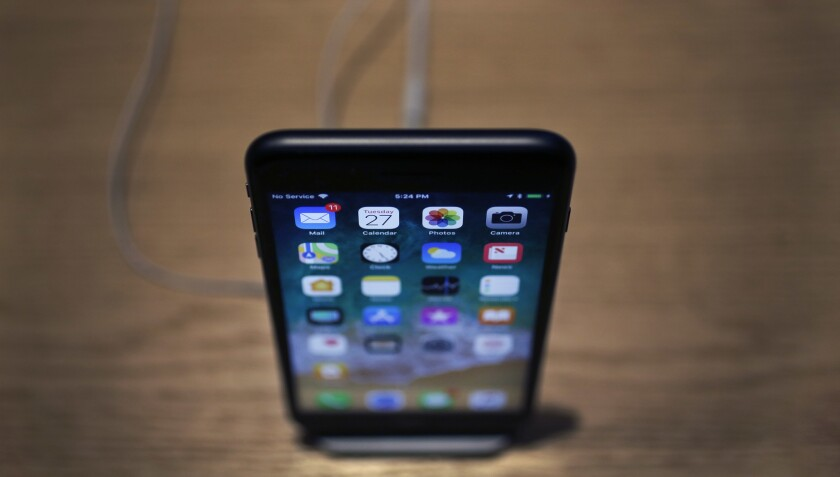 Apple's iPhone X has a bright, edge-to-edge display and 3-D facial recognition, but the $999 starting price was too much for some people.