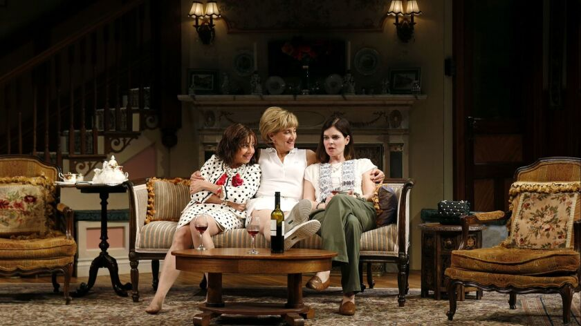 "South Coast Repertory presents ""The Sisters Rosensweig"" by Wendy Wasserstein, directed by Casey"