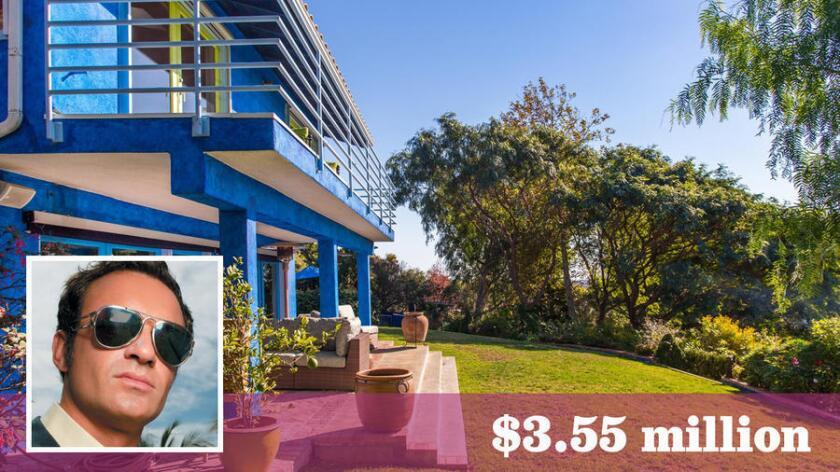 McMahon sold the home in the Malibu Park area of Malibu for $3.55 million.