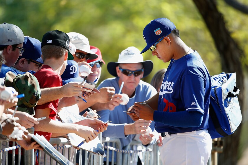 All eyes will be on Julio Urias today against the Mets.