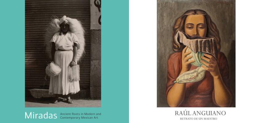 """""""Miradas: Raíces Antiguas en Arte Mexicano Moderno y Contemporáneo"""" y """"Raúl Anguiano: Retrato de un Maestro"""" estarán abiertas al público hasta el 27 de septiembre."""
