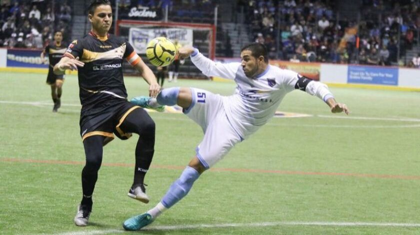 Erick Tovar had two goals and one assists for the Sockers in their playoff win over Ontario.