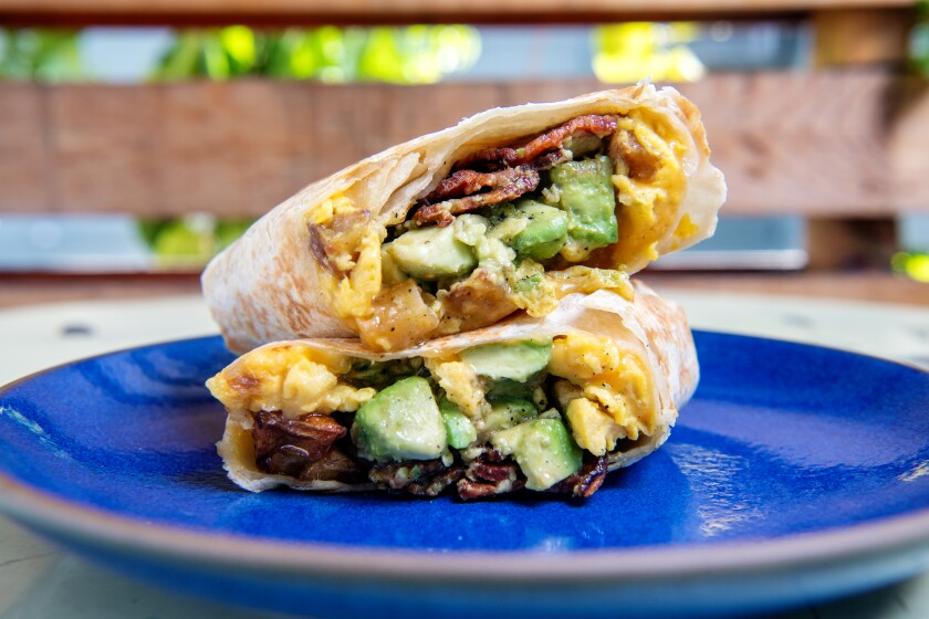 Breakfast burrito from All Time