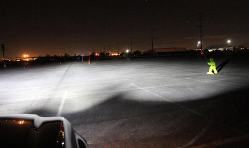 most car headlights fail safety test on dark roads auto club says los angeles times most car headlights fail safety test on