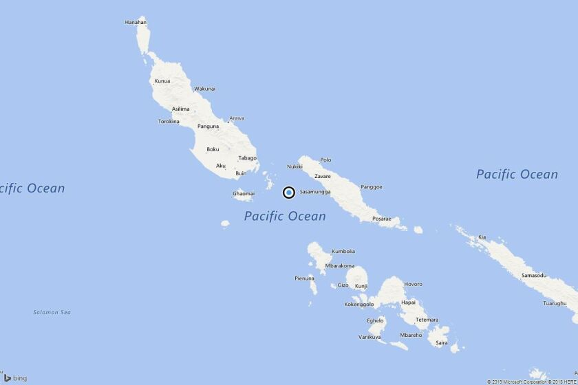 Earthquake: 6.2 quake strikes near Taro, Solomon Islands