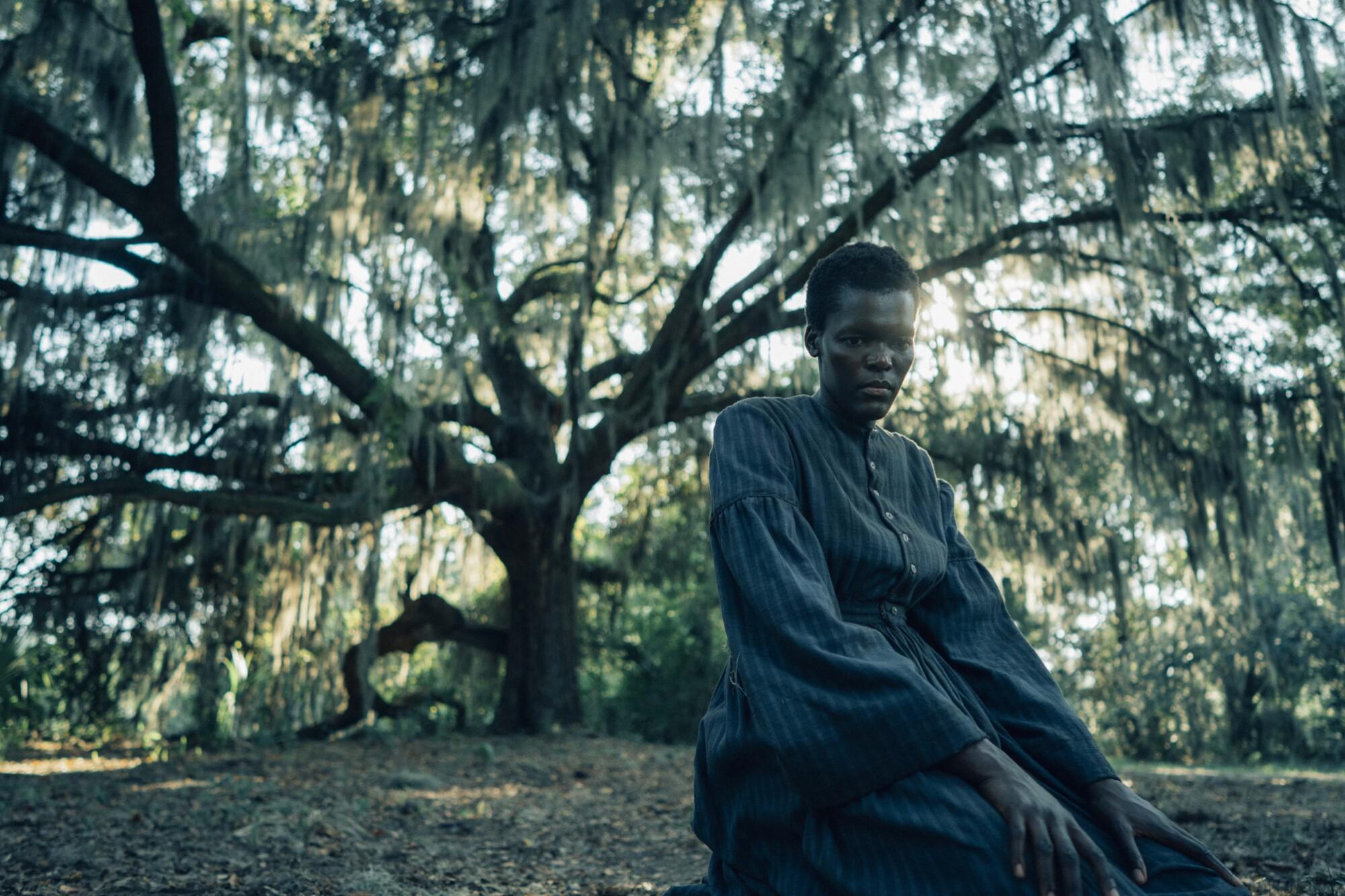 """Sheila Atim (Mabel) in """"The Underground Railroad."""""""