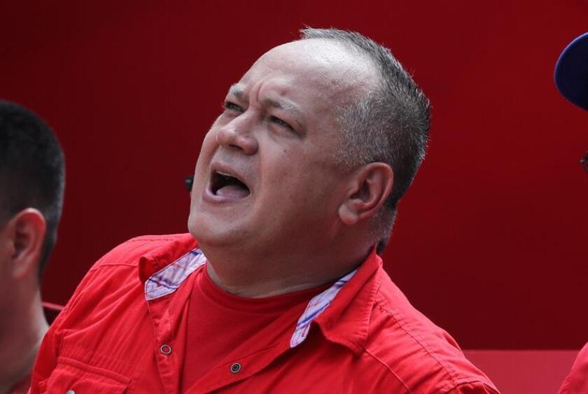 """El diputado venezolano Ismael García informó hoy en Miami que presentó pruebas """"serias"""" a la Justicia de EE.UU. sobre lavado de dinero por más de 1.300 millones de dólares contra Diosdado Cabello, presidente de la oficialista Asamblea Nacional Constituyente (ANC) de Venezuela. EFE/ARCHIVO"""