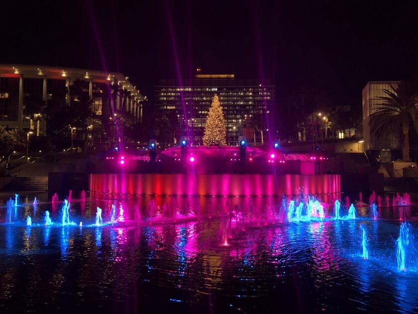 Grand Park's Winter Glow