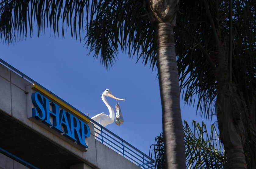 Sharp HealthCare operates hospitals throughout San Diego County. / photo by Howard Lipin * U-T