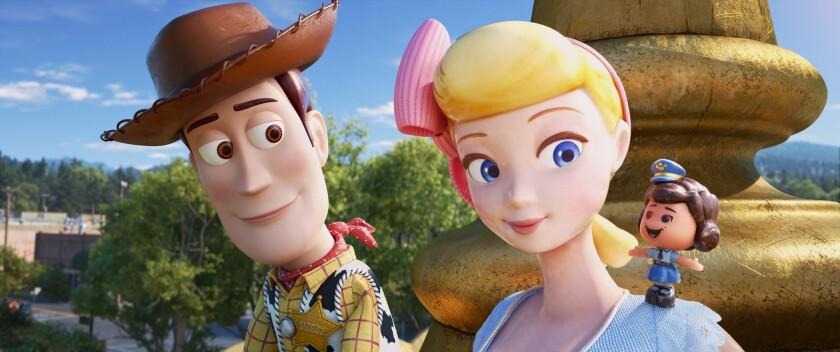 ***SUMMER SNEAKS 2019--GIGGLE MCDIMPLES -- In Disney?Pixar?s ?Toy Story 4,? Bo Peep introduces Woody