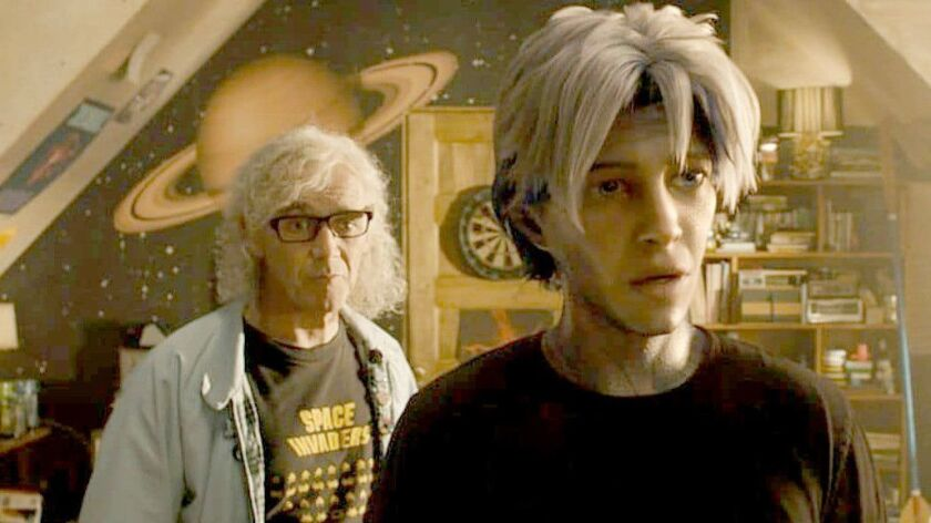 """Mark Rylance, left, and Tye Sheridan in """"Ready Player One,"""" which took the top spot at the Chinese box office for the second week in a row."""