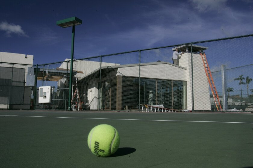 Redevelopment in Coronado funded a new tennis center.