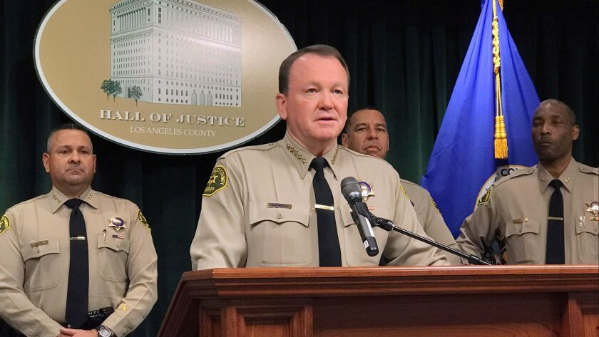 """""""Don't do business in Los Angeles County ... because we will find you and prosecute you to the fullest extent of the law,"""" Sheriff Jim McDonnell warned traffickers."""