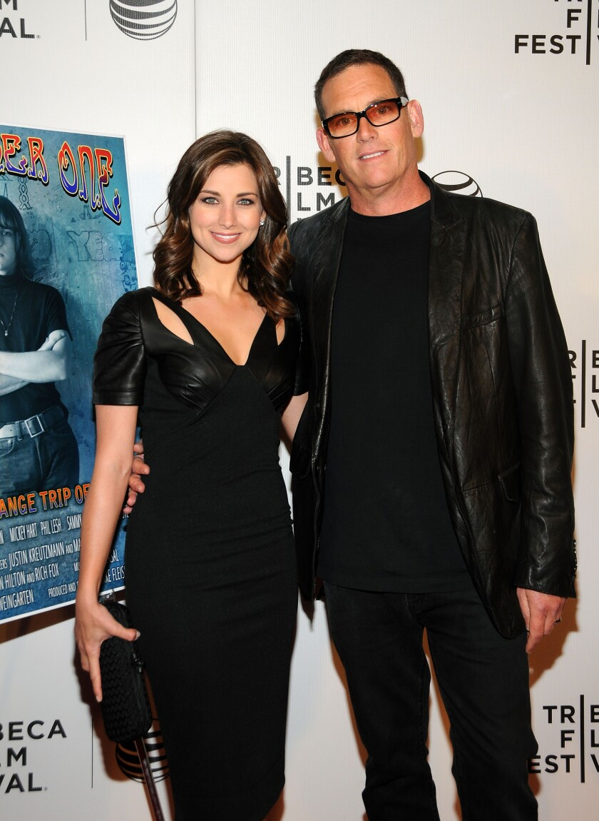 Laura Fleiss and Mike Fleiss in 2014