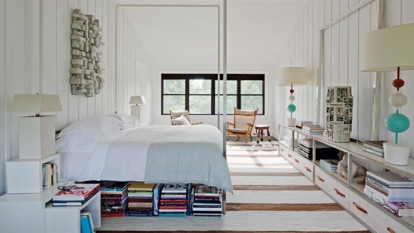 "1stdibs founder Michael Bruno's bedroom is one of the many rooms featured in designer Kathryn M. Ireland's new book ""Inspired By ..."""