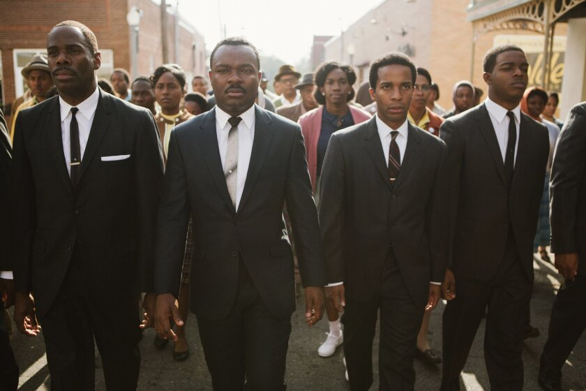 """A scene from the film, """"Selma."""""""