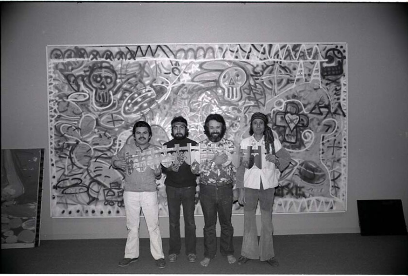 Los Four: the first Chicano artists to be shown at LACMA