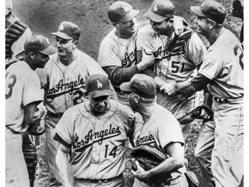 Dodgers win 1959 World Series