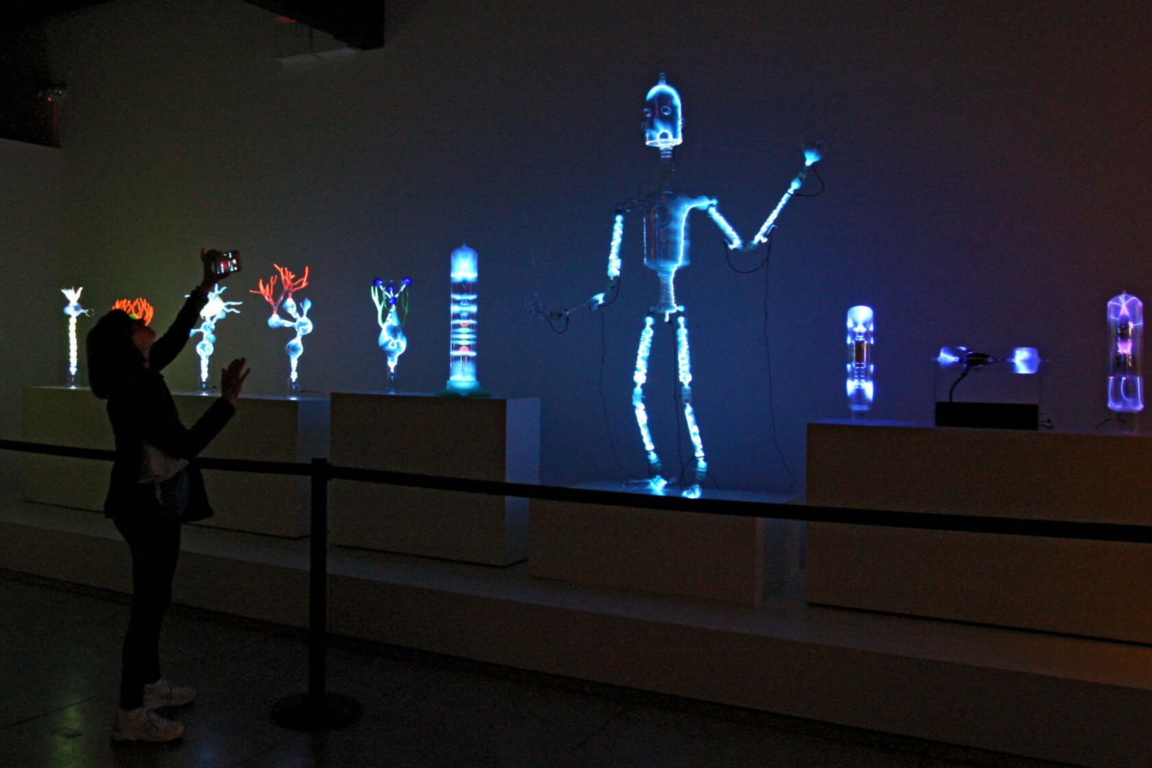 Plasma Exhibits Light Up Museum Of Neon Art Los Angeles Times