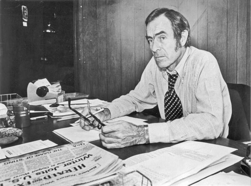 Jim Bellows in 1978