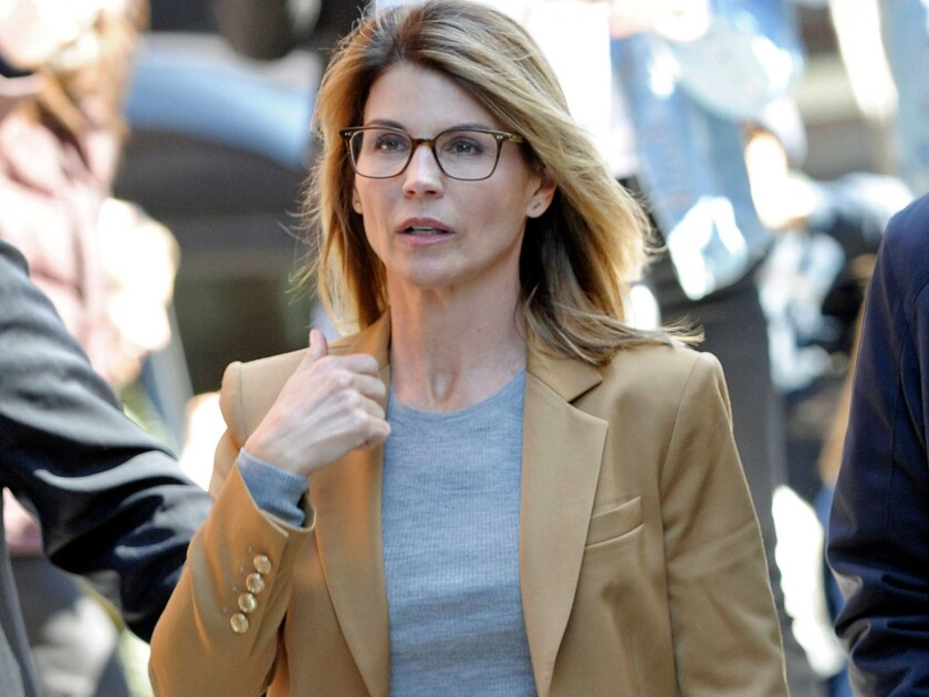 Actress Lori Loughlin faces new charges filed against her in the college admissions scandal.