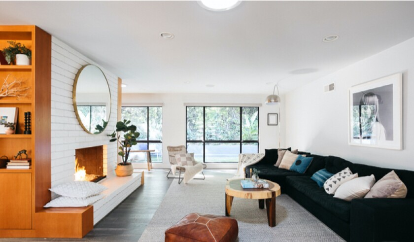 Hollywood Hills Midcentury owned by Breckin Meyer