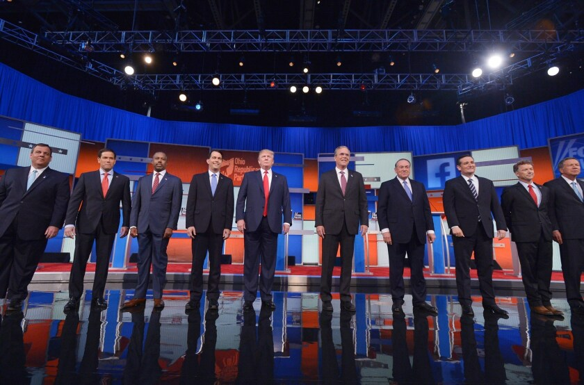 More than 40,000 people responded to the call for questions for the Republican presidential candidates ahead of Thursday night's Fox News debate.
