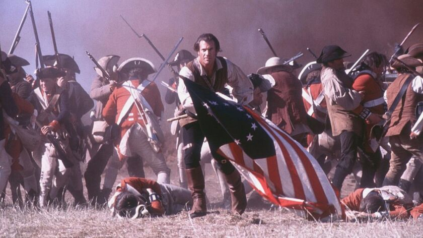 "Still from ""The Patriot"" starring Mel Gibson"