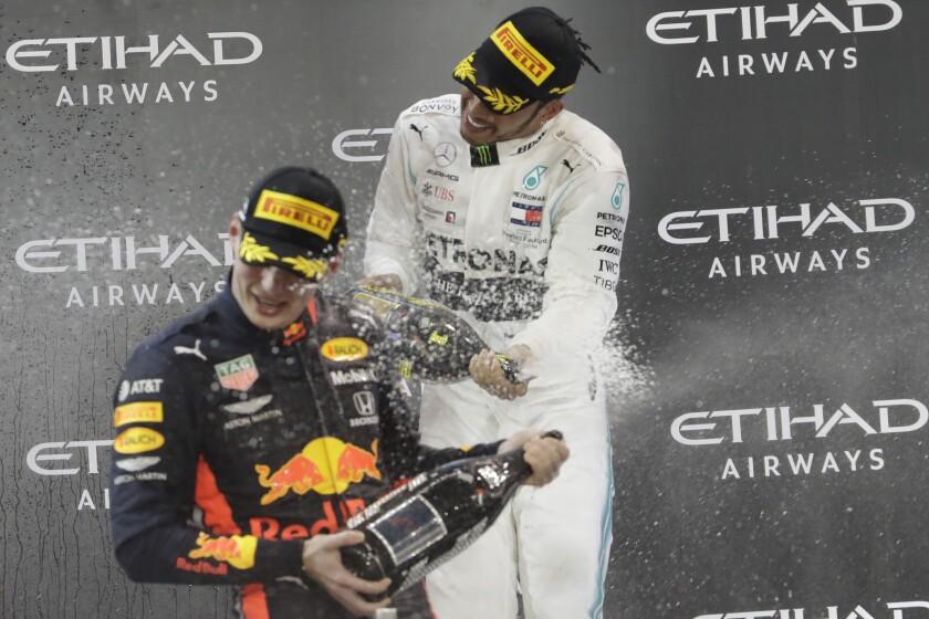 APTOPIX Emirates F1 GP Auto Racing