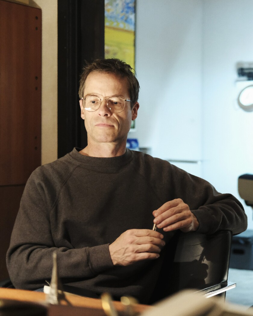 """Guy Pearce plays Cleve Jones in ABC's miniseries """"When We Rise."""""""