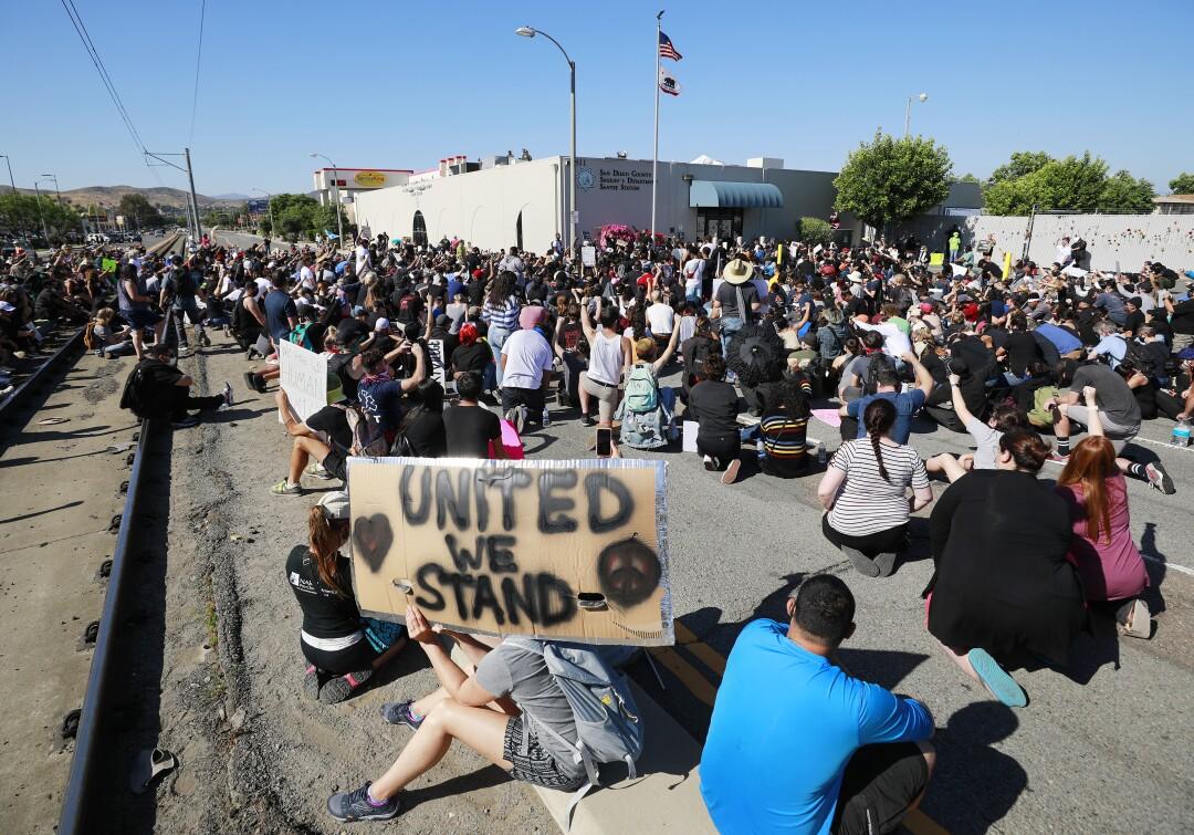 Black Lives Matter, manifestantes