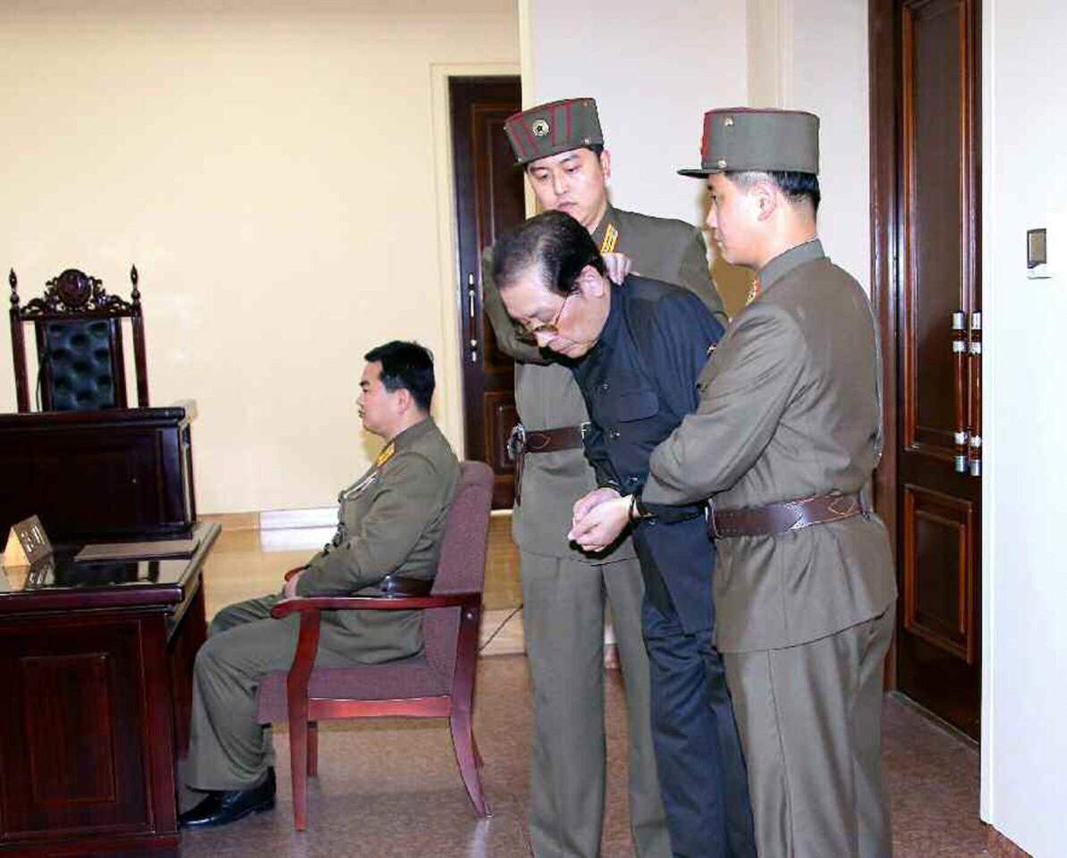 A purge in North Korea