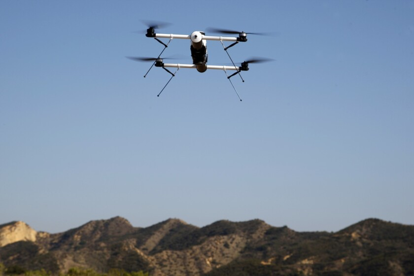 A proposal pending in the California Legislature would prohibit the use of aerial drones to collect video, photos and audio from celebrities and others in a way that violates their privacy rights.