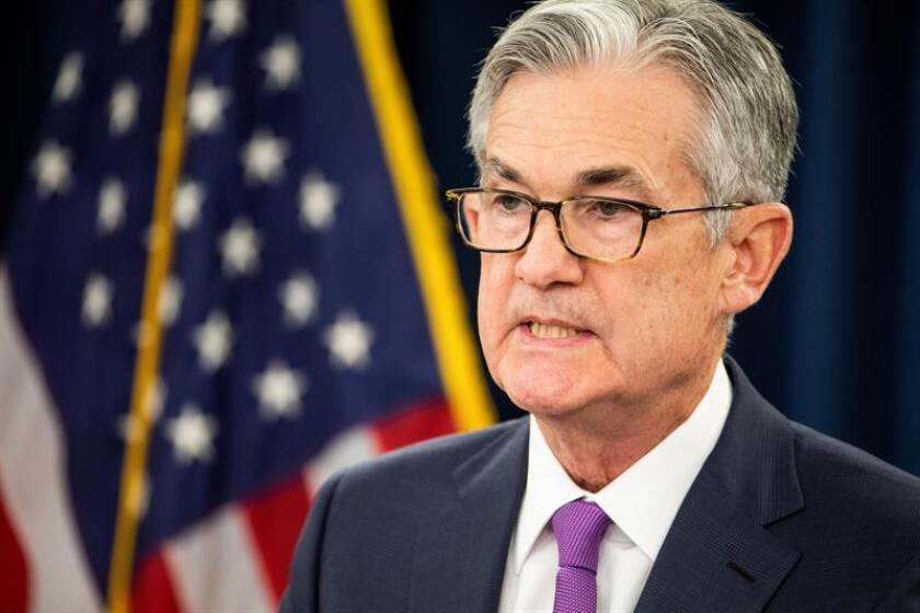 El presidente de la Reserva Federal de Estados Unidos, Jerome H. Powell. EFE/Archivo