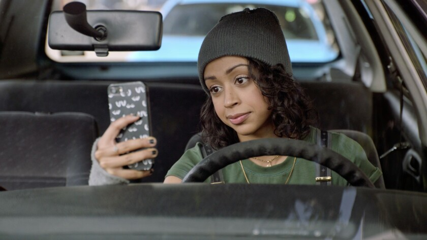 """Internet star Liza Koshy plays a young woman striving to become a top-rated """"tasker"""" in the YouTube Premium comedy """"Liza On Demand."""""""