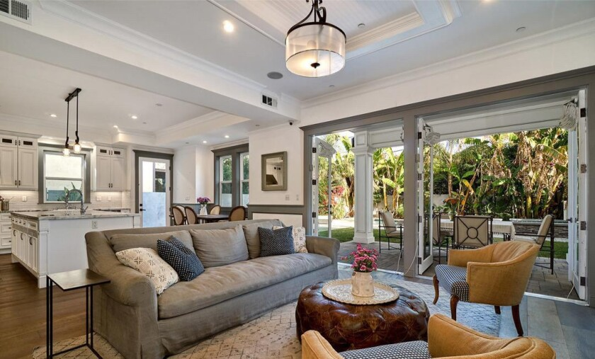Bret Harrison and Lauren Zelman's Sherman Oaks home