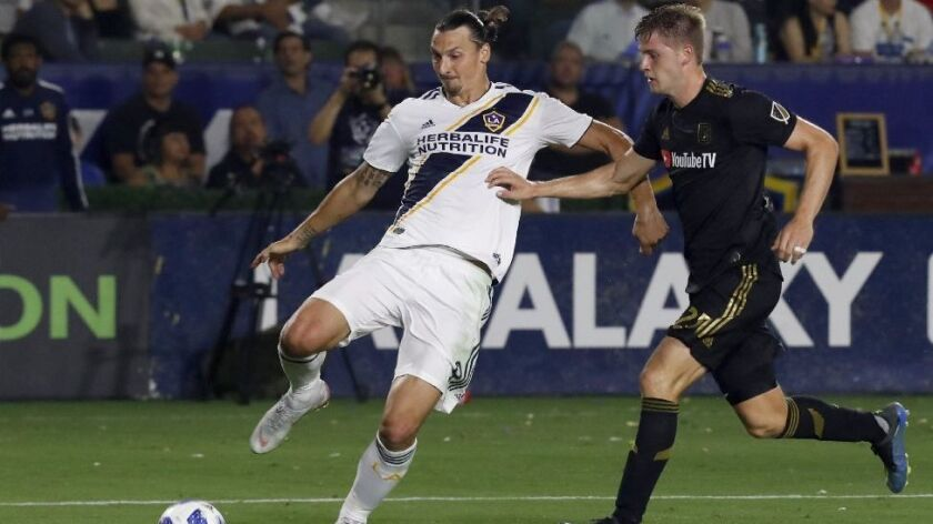 Zlatan Ibrahimovic named MLS Newcomer of the Year - Los