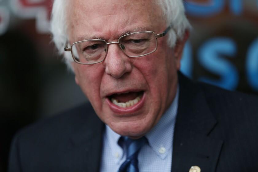 Bernie Sanders in Indiana