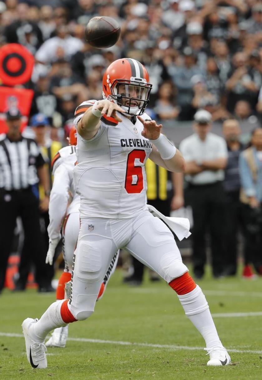 16-17. Mayfield y Callaway sellan segunda victoria consecutiva de los Browns